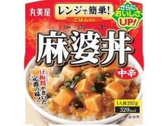 丸美屋 麻婆丼 中辛 ごはん付き カップ297g