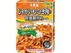 丸美屋 じゃがいもとひき肉の甜麺醤炒めの素 箱150g