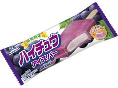 森永製菓 ハイチュウアイスバー グレープ 袋120ml