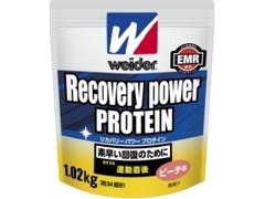 ウイダー リカバリーパワープロテイン ピーチ味 袋1.02kg
