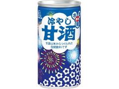 森永製菓 冷やし甘酒 花火缶 缶190g