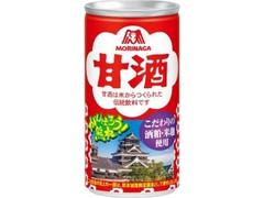 森永製菓 甘酒 熊本城デザイン 缶190g