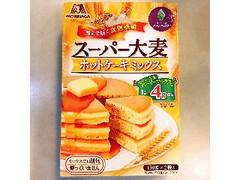 森永製菓 スーパー大麦ホットケーキミックス 箱300g