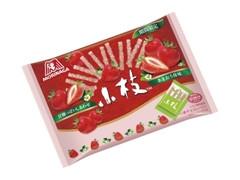 森永製菓 小枝 あまおう苺味 ティータイムパック 袋133g