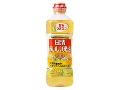 日清 おいしい米油 ボトル600g