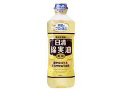 日清 料理のプロが選ぶ 日清綿実油 ボトル600g