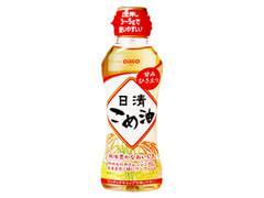 日清 日清こめ油 ボトル200g
