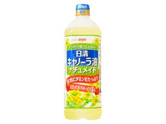 日清オイリオ キャノーラ油 ナチュメイド ボトル900g