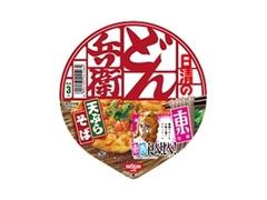 日清のどん兵衛 食べ比べ 天ぷらそば 東 カップ100g
