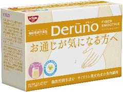 日清 Deruno FIBER SMOOTHIE プレーン 箱7g×30