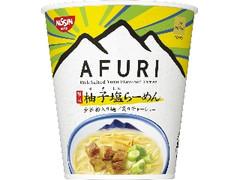 日清食品 THE NOODLE TOKYO AFURI 限定柚子塩らーめん カップ93g