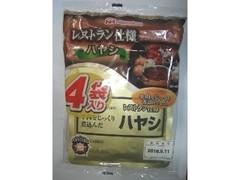 ニッポンハム レストラン仕様ハヤシ 袋135g×4