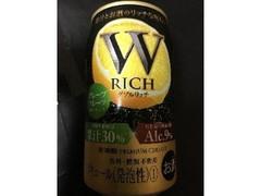 宝酒造 W RICH 缶350ml