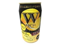 タカラ W RICH レモン 缶350ml