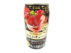 タカラ PREMIUM おいしいチューハイ 冬の濃厚果実ブレンド いちごテイスト 350ml