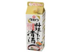 タカラ 料理のための清酒 パック500ml