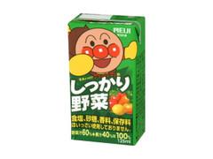 明治 それいけアンパンマン しっかり野菜 パック125ml