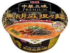 明星 中華三昧PREMIUM 黒胡麻担々麺 カップ102g