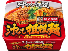 明星 汁なしの王道 汁なし担担麺 麺や金時 カップ169g