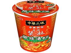明星 中華三昧 赤坂榮林 酸辣湯春雨 カップ29g