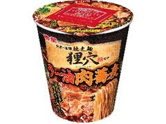 明星 馳走麺 狸穴監修 ラー油肉蕎麦 カップ95g
