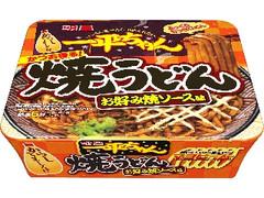 明星 一平ちゃん焼うどん お好み焼ソース味 カップ117g