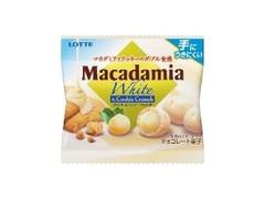 ロッテ マカダミアチョコレート ポップジョイ ホワイト&クッキークランチ 袋29g