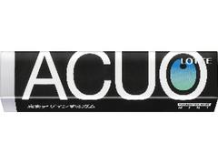 ロッテ ACUO シャープブラックミント 14粒
