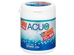 ロッテ ACUO クリアブルーミント ファミリーボトル 増量