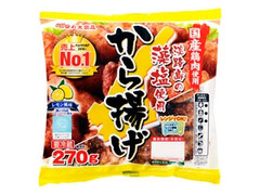 丸大食品 淡路島の藻塩使用 から揚げ レモン風味 袋270g