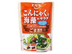 エバラ こんにゃくと海藻のサラダ ごま風味 袋188g