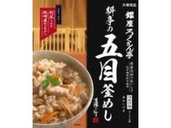 大塚食品 銀座ろくさん亭 料亭の五目釜めし 箱287.5g