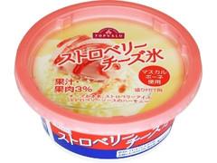 トップバリュ ストロベリーチーズ氷 カップ145ml