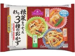 トップバリュ 根菜をつかった彩り3種のおかず 袋15g×6
