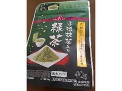 トップバリュ 京都付産の石臼挽き抹茶使用 宇治抹茶入り緑茶 袋40g