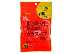 ユウキ 化学調味料無添加のガラスープ 顆粒 袋70g