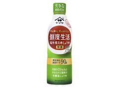 ヤマサ 鮮度生活塩分控えめしょうゆ ボトル600ml