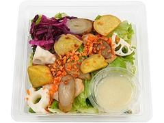 ミニストップ 生姜ドレで食べる根菜サラダ