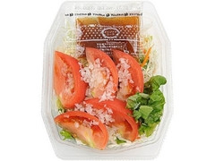 ミニストップ オニオンドレで食べるトマトサラダ