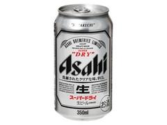 アサヒ スーパードライ 生 缶350ml