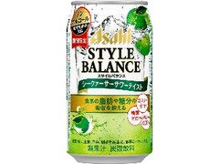 アサヒ スタイルバランス シークァーサーサワーテイスト 缶350ml