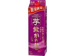 アサヒ 芋焼酎 紫かのか パック1800ml