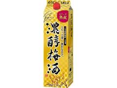 アサヒ 濃醇梅酒 パック1800ml