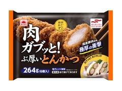 あけぼの 肉ガブッと!ぶ厚いとんかつ 袋6個
