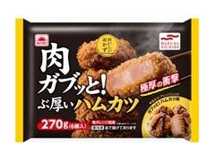 あけぼの 肉ガブッと!ぶ厚いハムカツ 袋6個