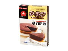 日清 お菓子百科 クールン チョコレートムース 箱128g