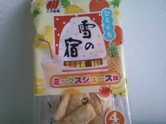 三幸製菓 ひとくち雪の宿 ミックスジュース味 袋45g