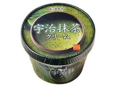 カンピー 宇治抹茶クリーム カップ140g