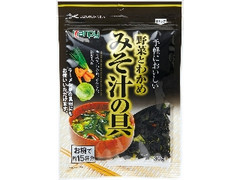 kanpy みそ汁の具 野菜とわかめ 袋30g