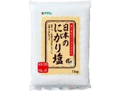 kanpy 日本のにがり塩 袋1kg